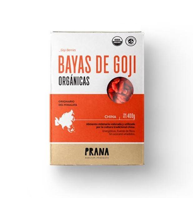 Imagen de BAYAS DE GOJI ORGÁNICAS PRANA 400g