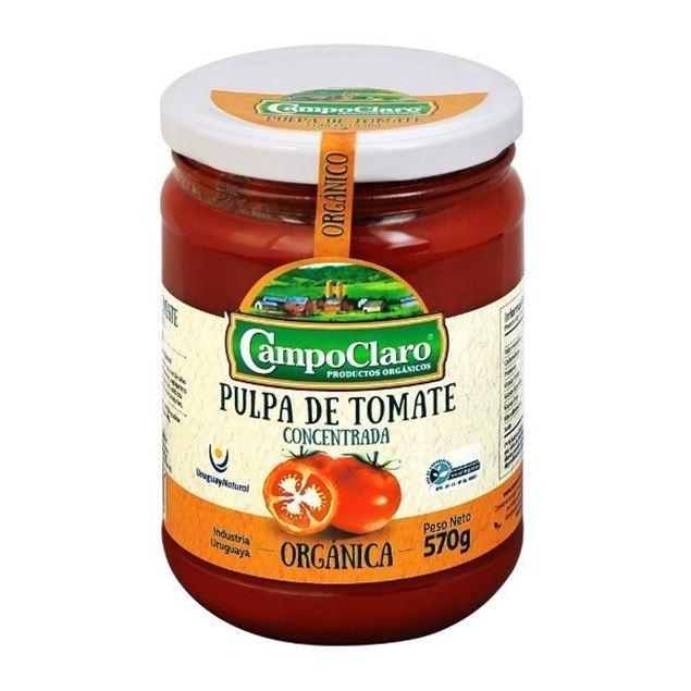 Imagen de PULPA DE TOMATE CAMPO CLARO 570G