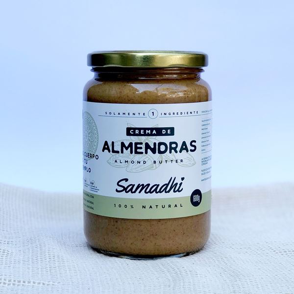 Imagen de CREMA DE ALMENDRAS SAMADHI 680G