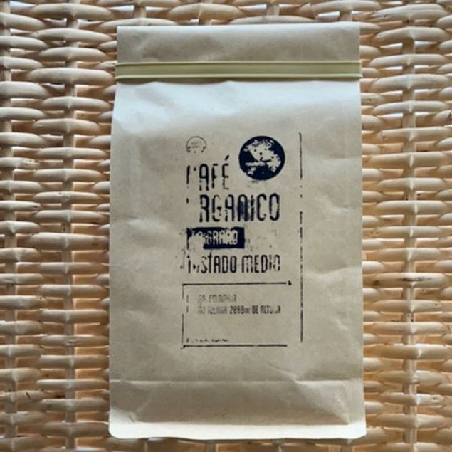Imagen de CAFÉ ORGÁNICO EN GRANO 250g