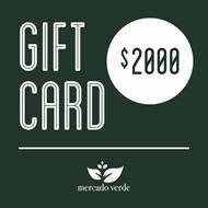 Imagen de Gift Card Mercado Verde