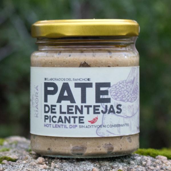 Imagen de PATE DE LENTEJAS PICANTE KIAORA 160 GRS