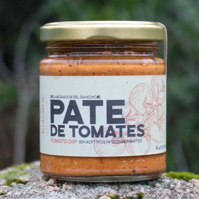 Imagen de PATE DE TOMATES KIAORA 160 GRS