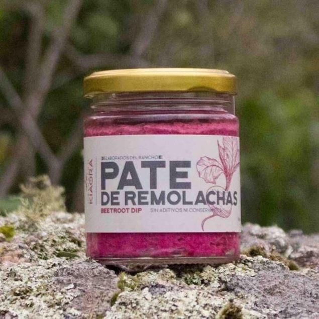 Imagen de PATE DE REMOLACHA 160g KIAORA