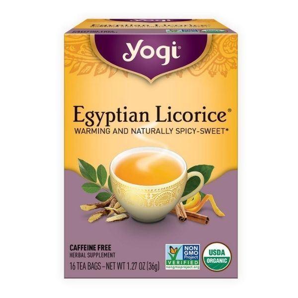 Imagen de TE YOGI EGYPTIAN LICORICE