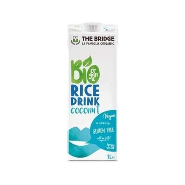 Imagen de LECHE ARROZ COCO THE BRIDGE 1L