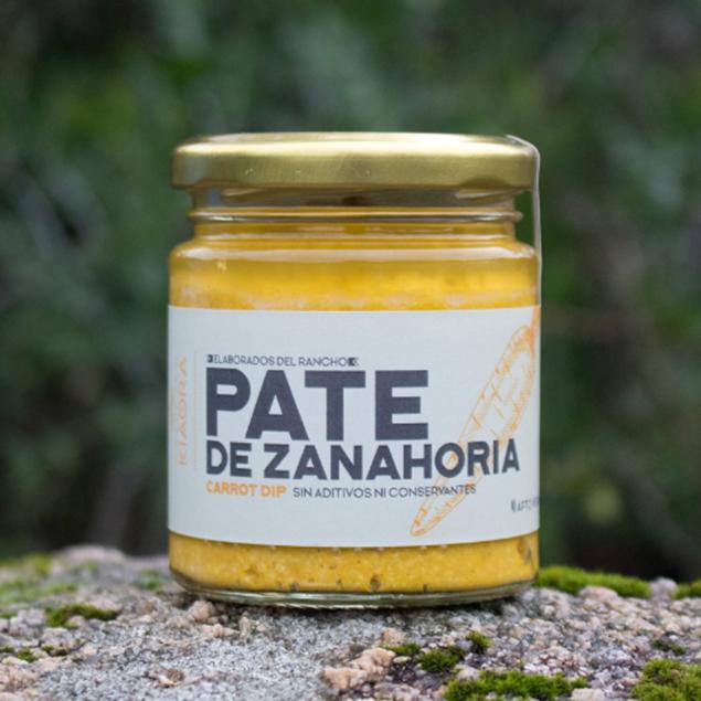 Imagen de PATE DE ZANAHORIA KIAORA 160 GRS